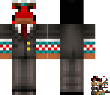 PauseUnpause's covered Minecraft skin