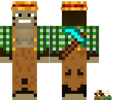 monkeyfarm's Minecraft skin