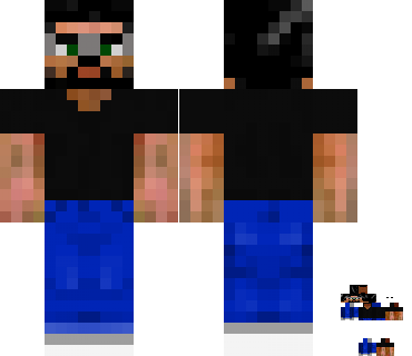 BigGunn's covered Minecraft skin