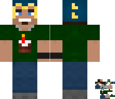 Coestar's covered Minecraft skin